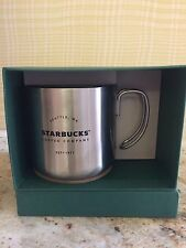 Starbucks 2016 Seattle Stainless Steel Camping Mug 12 oz NIB