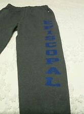 New Episcopal Sweats Workout Track Warm Up Pants L with pockets