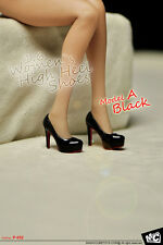 MCTOYS P-052 Women`s High Heel Shoes 1/6 Figure Four Colors Model A