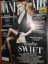 Vanity Fair.Taylor Swift,Hugh Jackman,John Travolta,Francesca Chillemi,ppp