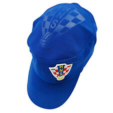 CROATIA BLUE HNS LOGO FIFA SOCCER WORLD CUP MILITARY STYLE HAT CAP .. NEW