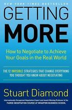 Getting More: How to Negotiate to Achieve Your Goals in the Real World-ExLibrary