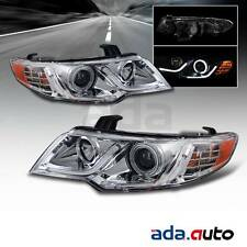 For 2010-2013 Kia Forte Coupe/Sedan [CCFL Halo] LED DRL Chrome Headlight G2 Set