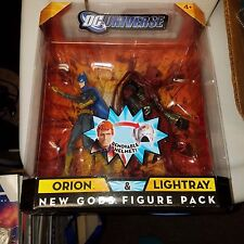 DC Universe Classics Batgirl and Azrael 2 Pack, MIB, Error in Lighray/Orion Box