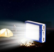 50000mAh Dual USB Solar Ladegerät LED Power Bank für Handy iPhone iPod  Samsung