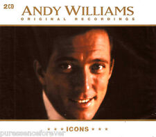 ANDY WILLIAMS - Icons: Andy Williams (UK 42 Tk Double CD Album) (Sld)
