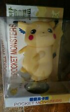 "NEW NIP POKEMON COIN BANK PIKACHU  5"" PLASTIC POCKET MONSTER TOMY JAPANESE"