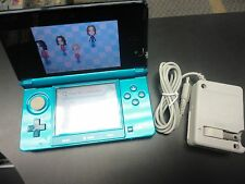 Nintendo 3DS Aqua Blue Handheld Video Game Console System