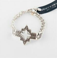 Lucky Brand Four Pointed Marcasite Star Bracelet