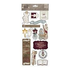 PHOTOPLAY - LUKE 2 - Chipboard Stickers - 17 pieces - scrapbooking Christmas