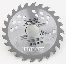 SUNDELY 2 x 115mm Angle Grinder saw blade for wood and plastic 24 TCT Teeth