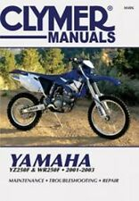 Clymer M406 Service & Repair Manual for 2001-03 Yamaha YZ250F / WR250F