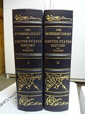 LEGAL CLASSICS LIBRARY THE SUPREME COURT IN UNITED STATES HISTORY WARREN - 2 VOL