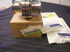 """Alfa Laval Tri-Clover 1 1/2"""" Butterfly Valve B51A-1 1/2-51-316L with 2 Seal Kits"""