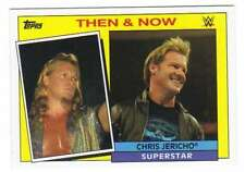 2015 Topps WWE Heritage Wrestling Then and Now Insert #5 Chris Jericho