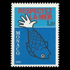 Monaco 1981 - Respect the Sea - Sc 1286 MNH