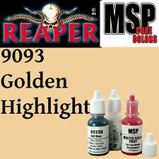 GOLDEN HIGHLIGHT 9093 - MSP 15ml 1/2oz paint peinture figurine REAPER MINIATURE