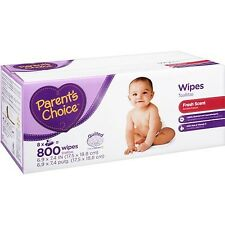 Parent's Choice Scented Baby Wipes 800 sheets