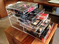 GRANDE Kardashian Stile 5 Disegna Acrilico Cosmetici Make Organizzatore Box Case/Cubo