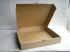 "1  PIZZA BOX 10"" X 10"" PACKAGING SMALL PARCEL SIZE IDEAL CLOCKS"