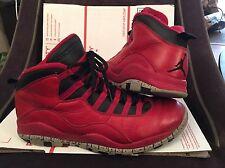 Nike Air Jordan 10 X Retro 9.5 Bulls Over Broadway Gym Red Black Gray 705178-601