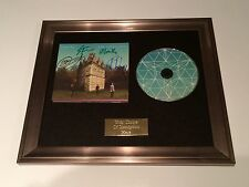 SIGNED/AUTOGRAPHED TEMPLES - SUN STRUCTURES FRAMED CD PRESENTATION. RARE