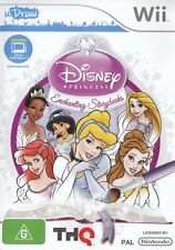 Disney Princess Enchanting Storybooks (uDraw)  - Wii game - BRAND NEW