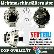 MERCEDES - BENZ C E Kombi SPRINTER LICHTMASCHINE ALTERNATOR 150A NEU NEW !!!
