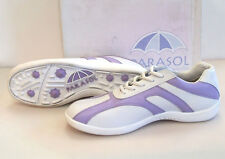 Parasol PA-1002 golf shoes women's size 9.5 periwinkle white new ladies cleats