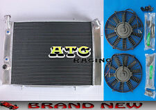 3 Core Aluminum Radiator for HOLDEN COMMODORE VB VC VH VK V8 AT/MT & 2* Fans
