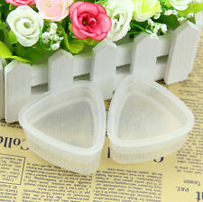 2x Triangle Form Sushi Mold Onigiri Rice Ball Bento Press Maker Mold DIY Tool