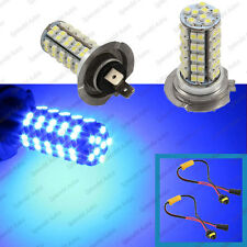 2-Piece Ultra Blue Luxeon 68 SMD H7 LED Daytime Running Light BMW 3 5 Series