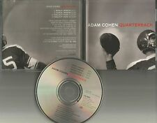 ADAM COHEN Quarterback FOOTBALL COVER PROMO CD Single Leonard Son Low Millions