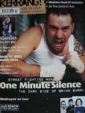 KERRANG 832 - ONE MINUTE SILENCE/AT THE DRIVE-IN/TURN/MY RUIN/PARADISE LOST