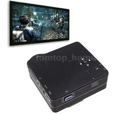 Mini Portable HD LED Projector Home Cinema Theater PC Laptop HDMI AV VGA SD USB