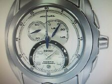 SEIKO ARCTURA MEN'S WATCH KINETIC SAPPHIRE S/S SNL055 ORIGINAL JAPAN NEW