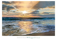 WHIPPED CREAM ART PRINT BY CELEBRATE LIFE GALLERY ocean sunset beach sand poster