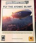 "Grand Theft Auto V 5 DLC Atomic Blimp Code PlayStation 3 PS3 ""FREE SHIPPING"""