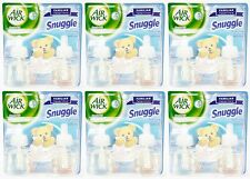 12 REFILLS Air Wick SNUGGLE Fresh Linen Scented Oil Plug In Refill