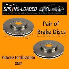 Rear Brake Discs for Hyundai Sonata Mk3/4 2.0 16v - Year 01-05