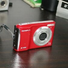 Olympus X-Series X-44 14.0MP Digital Camera - Red