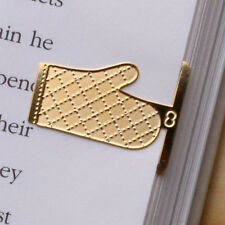 mini BAKING MACARON 18k gold plated bookmark for your cook book recipe cooker