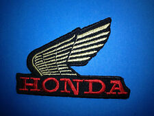 Honda Motorcycles Biker Vest Jacket Hat Hoodie Backpack Patch Iron On Crest A
