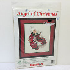 NEW Dimensions Laine Gordon *ANGEL OF CHRISTMAS* Counted Cross Stitch Kit #8436
