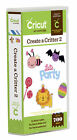 *New* CREATE A CRITTER 2 Animal Phrase Cricut Cartridge Free Ship Factory Sealed
