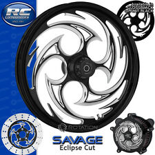 RC Components Savage Eclipse Custom Motorcycle Wheel Harley Touring Baggers 21""