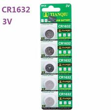3V CR1632 DL1632 ECR1632 3 Volt Button Coin Cell Battery for CMOS watch toy x5 S