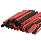 42pcs 6 Sizes 2:1 Red Black Polyolefin H-type Heat Shrink Tube Sleeve Cable Kit