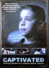 Captivated finding freedom in a media captive culture NEW Christian DVD