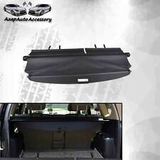 Fit 06 07-12 Toyota RAV4 4Dr OE Type Black Rear Cargo Security Cover Retractable
